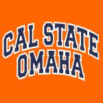 Front of Cal State Omaha orange shirt