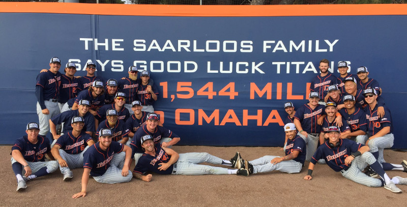 2017 Team poses with 1544 sign