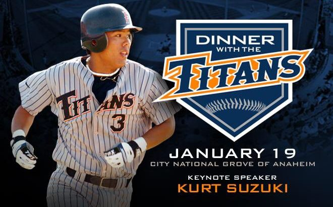 2018 Dinner with the Titans Kurt Suzuki