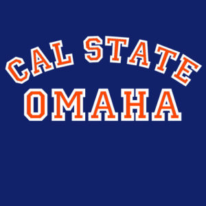 Cal State Omaha Navy Blue 2018 design