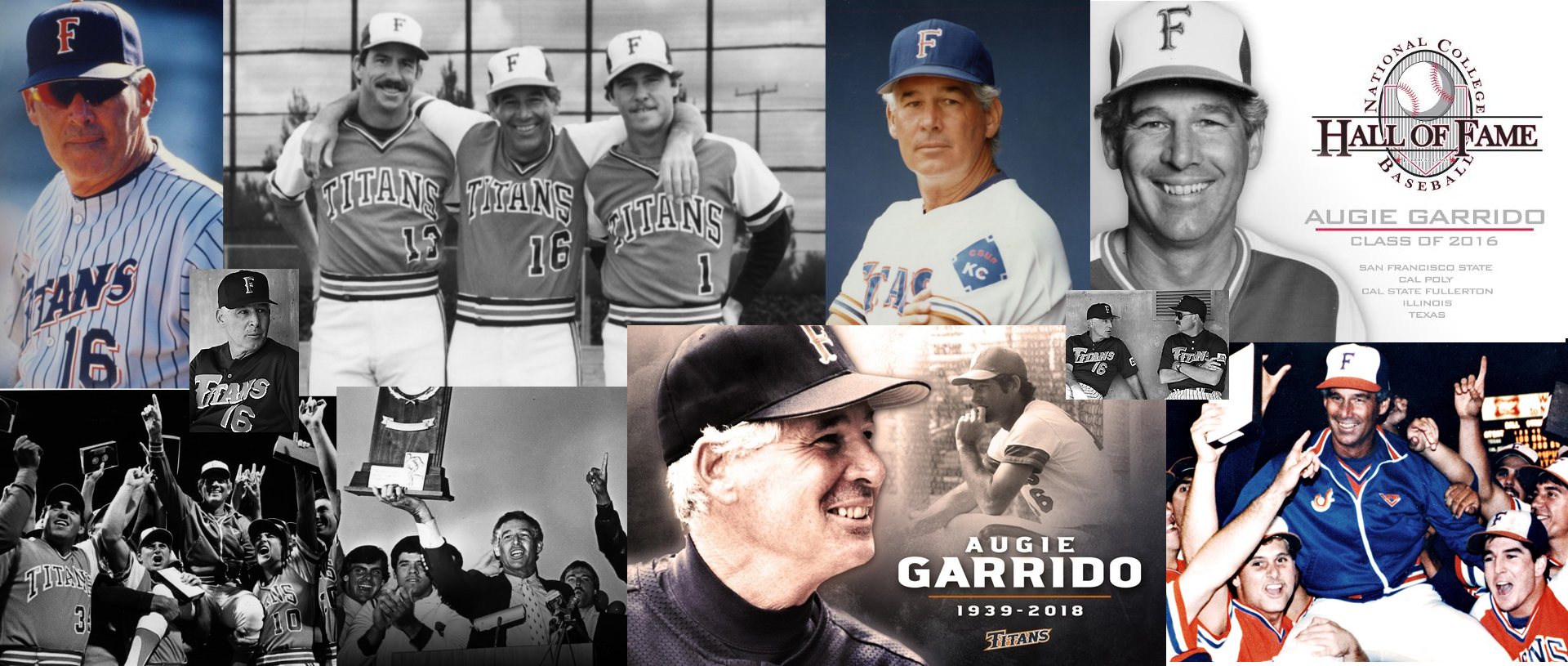 Augie Garrido collage