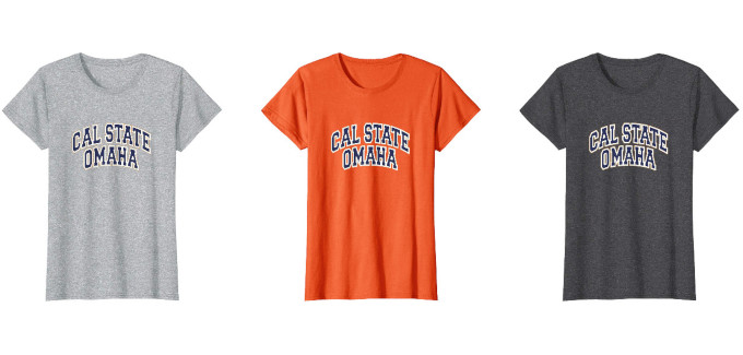 Cal State Omaha womens shirt featured