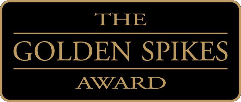 Golden Spikes Award logo