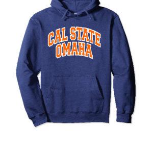 Cal State Omaha Navy Hoodie