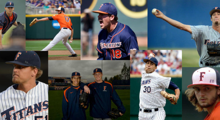 Cal State Fullerton Baseball pitchers