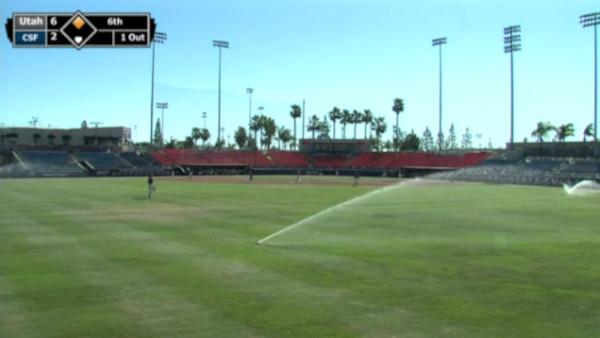 Outfield Sprinklers Goodwin Field
